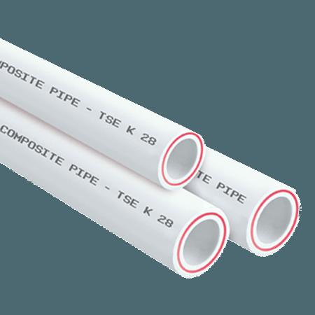 Труба полипропиленовая FIBER (стекловолокно)