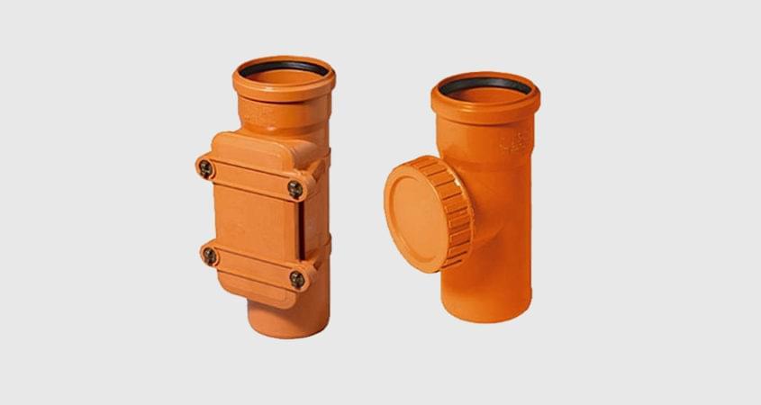 Ревизия ПВХ для канализационной трубы