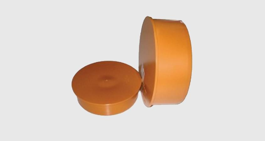 Заглушка ПВХ для канализационной трубы